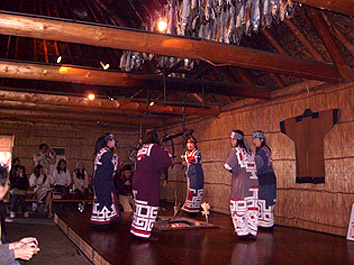 Ainu Dancing group